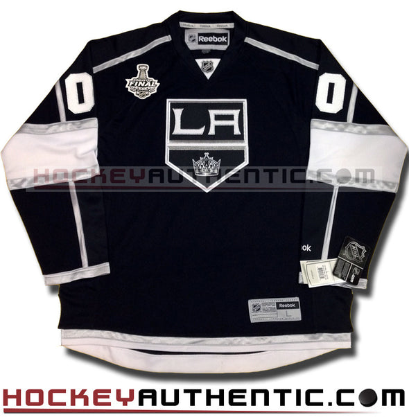 ANY NAME AND NUMBER LOS ANGELES KINGS 2014 STANLEY CUP FINALS PREMIER REEBOK NHL JERSEY - Hockey Authentic