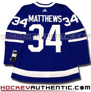 AUSTON MATTHEWS TORONTO MAPLE LEAFS AUTHENTIC PRO ADIDAS NHL JERSEY - Hockey Authentic