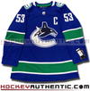 BO HORVAT VANCOUVER CANUCKS AUTHENTIC PRO ADIDAS NHL JERSEY (NEW 2019-20 EDITION) - Hockey Authentic