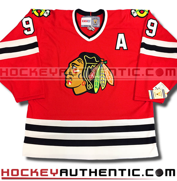 BOBBY HULL CHICAGO BLACKHAWKS CCM VINTAGE 1971 REPLICA NHL JERSEY - Hockey Authentic