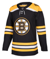 BOSTON BRUINS HOME BLACK AUTHENTIC PRO ADIDAS NHL JERSEY