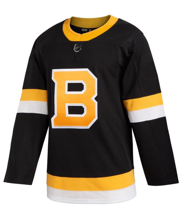 ANY NAME AND NUMBER BOSTON BRUINS THIRD ALTERNATE AUTHENTIC PRO ADIDAS NHL JERSEY - Hockey Authentic
