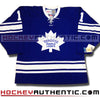 Johnny Bower Toronto Maple Leafs 1967 CCM vintage jersey - Hockeyauthentic.com  - 2