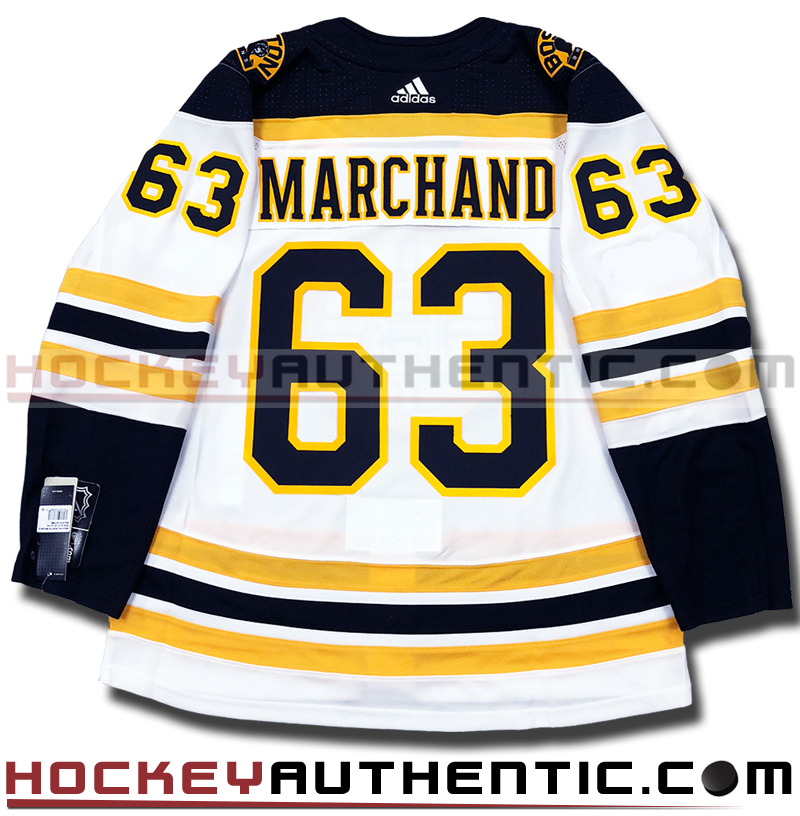 premium selection b20b8 64443 BRAD MARCHAND BOSTON BRUINS AUTHENTIC PRO ADIDAS NHL JERSEY