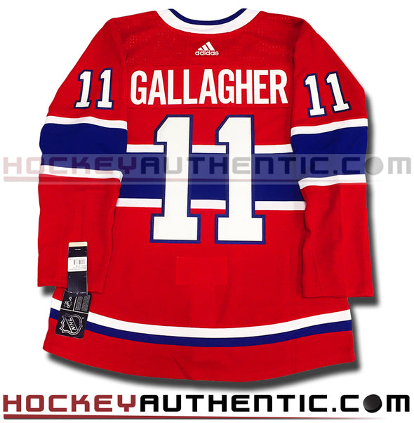 BRENDAN GALLAGHER MONTREAL CANADIENS AUTHENTIC PRO ADIDAS NHL JERSEY - Hockey Authentic
