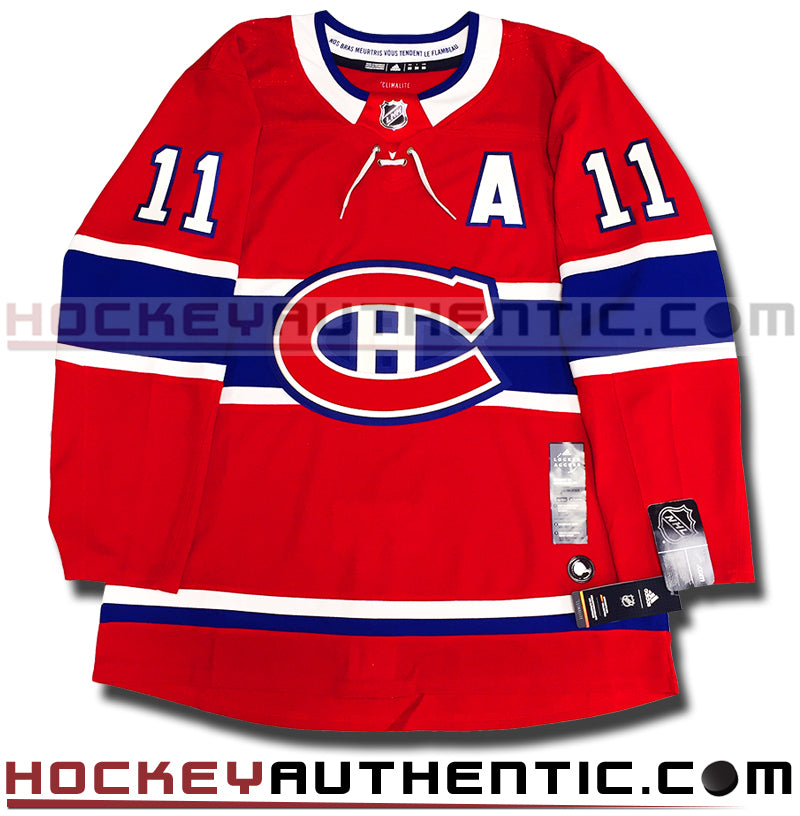 BRENDAN GALLAGHER MONTREAL CANADIENS AUTHENTIC PRO ADIDAS NHL JERSEY ... 2bd6bdf5882