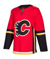 CALGARY FLAMES HOME RED AUTHENTIC PRO ADIDAS NHL JERSEY