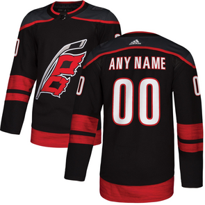 ANY NAME AND NUMBER CAROLINA HURRICANES THIRD ALTERNATE AUTHENTIC PRO ADIDAS NHL JERSEY - Hockey Authentic