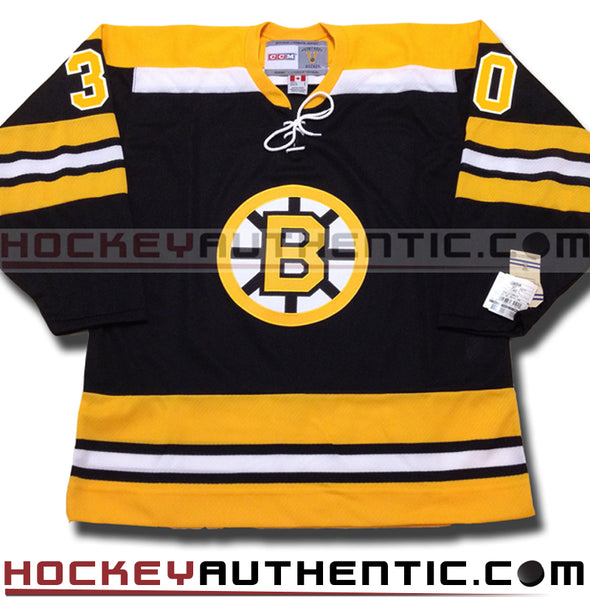 GERRY CHEEVERS BOSTON BRUINS CCM VINTAGE 1970 REPLICA NHL JERSEY - Hockey Authentic