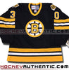 Gerry Cheevers Boston Bruins 1980 CCM vintage jersey - Hockeyauthentic.com  - 2