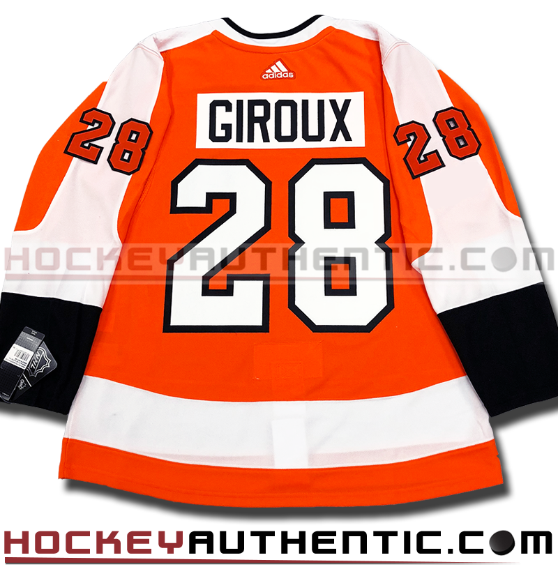new arrival b542d e68a2 CLAUDE GIROUX PHILADELPHIA FLYERS AUTHENTIC PRO ADIDAS NHL JERSEY -