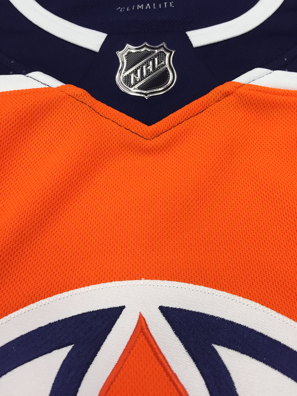 ANY NAME AND NUMBER EDMONTON OILERS AUTHENTIC PRO ADIDAS NHL JERSEY (2018-19 ROSTER) - Hockey Authentic