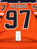 Connor McDavid Edmonton Oilers home Adidas Adizero authentic pro jersey 100th NHL patch