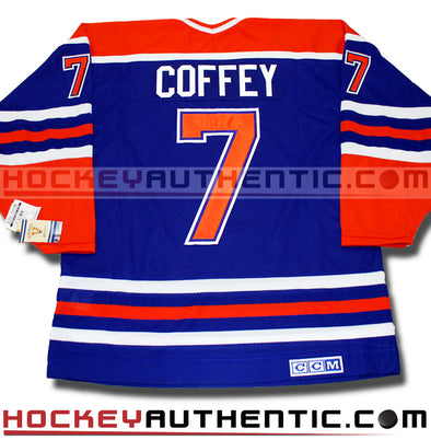 PAUL COFFEY EDMONTON OILERS CCM VINTAGE 1987 REPLICA NHL JERSEY - Hockey Authentic