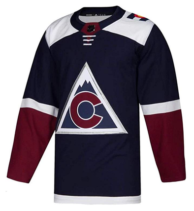 COLORADO AVALANCHE THIRD NAVY AUTHENTIC PRO ADIDAS NHL JERSEY - Hockey Authentic