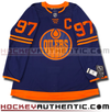 CONNOR MCDAVID EDMONTON OILERS THIRD NAVY AUTHENTIC PRO ADIDAS NHL JERSEY - Hockey Authentic
