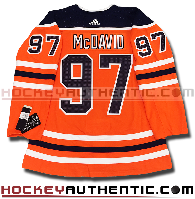 newest 63cba a3886 CONNOR MCDAVID EDMONTON OILERS AUTHENTIC PRO ADIDAS NHL JERSEY -