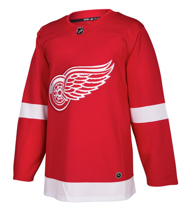 DETROIT RED WINGS HOME RED AUTHENTIC PRO ADIDAS NHL JERSEY