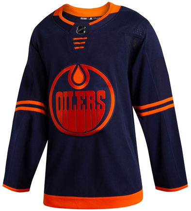 EDMONTON OILERS THIRD NAVY AUTHENTIC PRO ADIDAS NHL JERSEY - Hockey Authentic