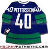ELIAS PETTERSSON VANCOUVER CANUCKS THIRD HERITAGE AUTHENTIC PRO ADIDAS NHL JERSEY - Hockey Authentic