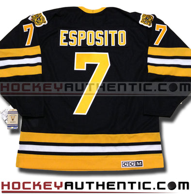 PHIL ESPOSITO BOSTON BRUINS CCM VINTAGE 1975 REPLICA NHL JERSEY - Hockey Authentic