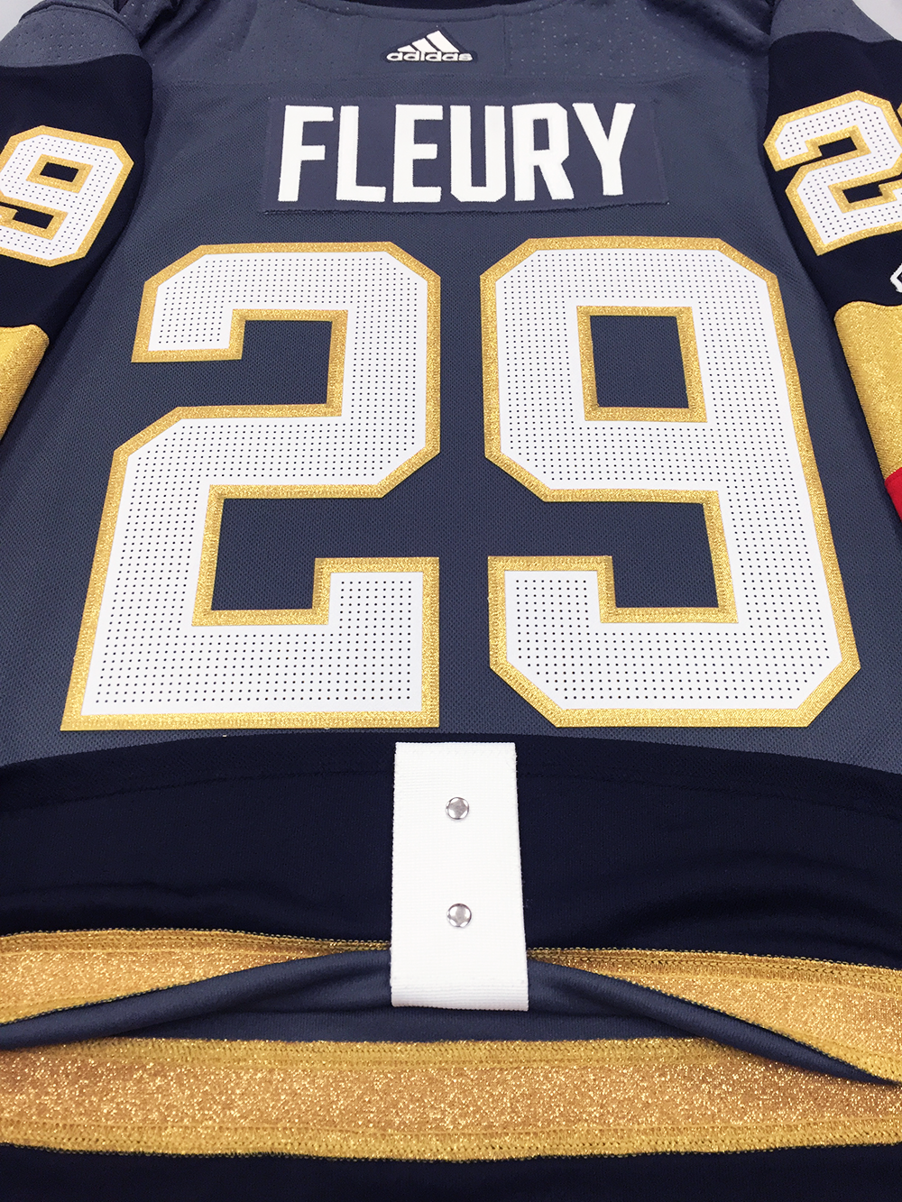 0c8abe615 MARC-ANDRE FLEURY VEGAS GOLDEN KNIGHTS AUTHENTIC PRO ADIDAS NHL JERSEY