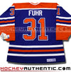 GRANT FUHR EDMONTON OILERS CCM VINTAGE 1987 REPLICA NHL JERSEY - Hockey Authentic