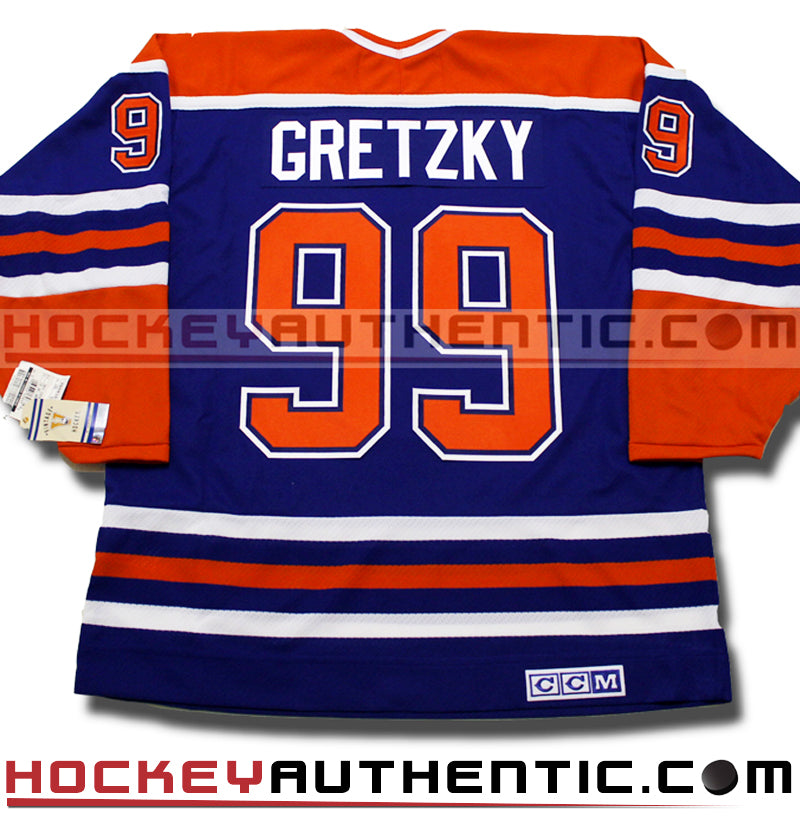 best service 71f31 408ec clearance licensed ccm replica edmonton oilers jersey signed ...