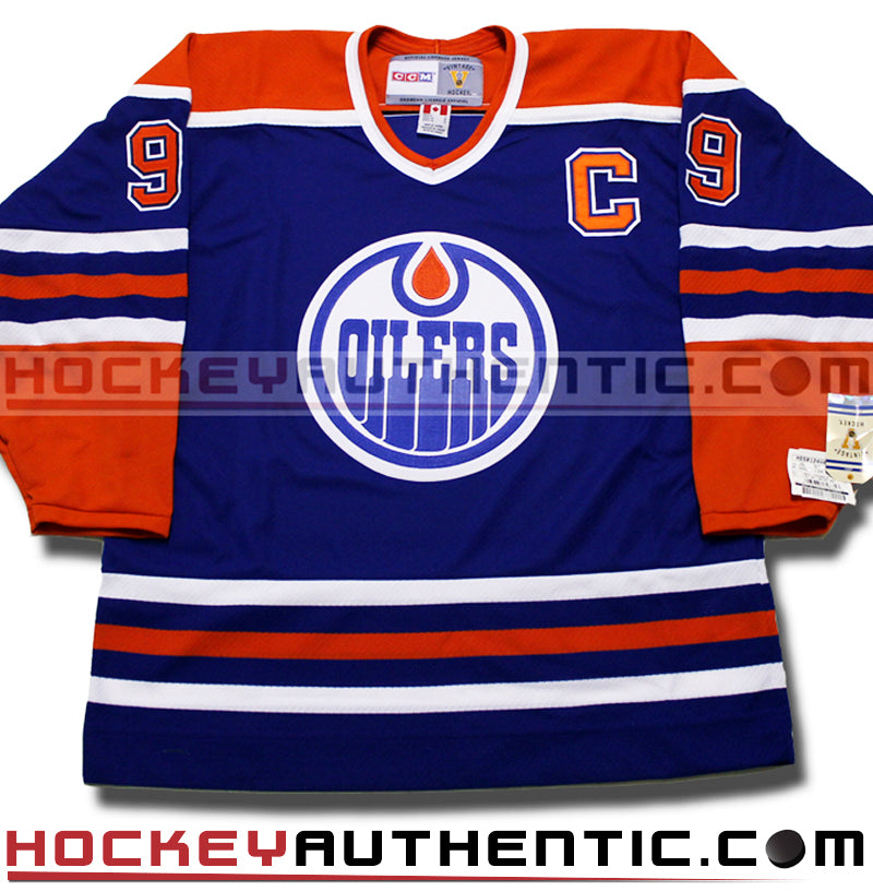 finest selection eff04 adc89 WAYNE GRETZKY EDMONTON OILERS CCM VINTAGE 1987 REPLICA NHL JERSEY