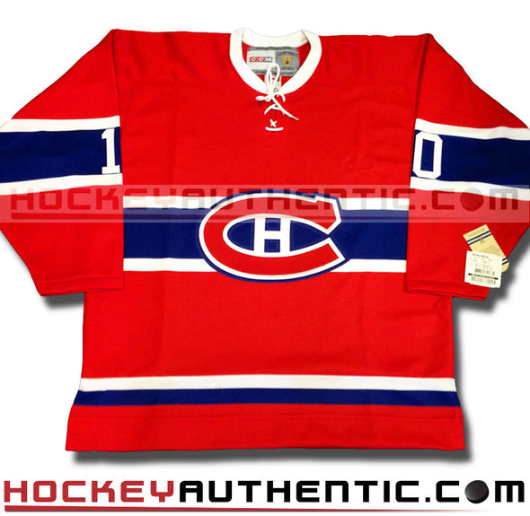 GUY LAFLEUR MONTREAL CANADIENS CCM VINTAGE 1973 REPLICA NHL JERSEY - Hockey Authentic