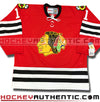 GLENN HALL CHICAGO BLACKHAWKS CCM VINTAGE 1963 REPLICA NHL JERSEY - Hockey Authentic