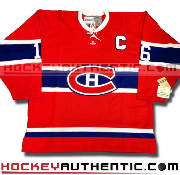 HENRI RICHARD MONTREAL CANADIENS CCM VINTAGE 1973 REPLICA NHL JERSEY - Hockey Authentic