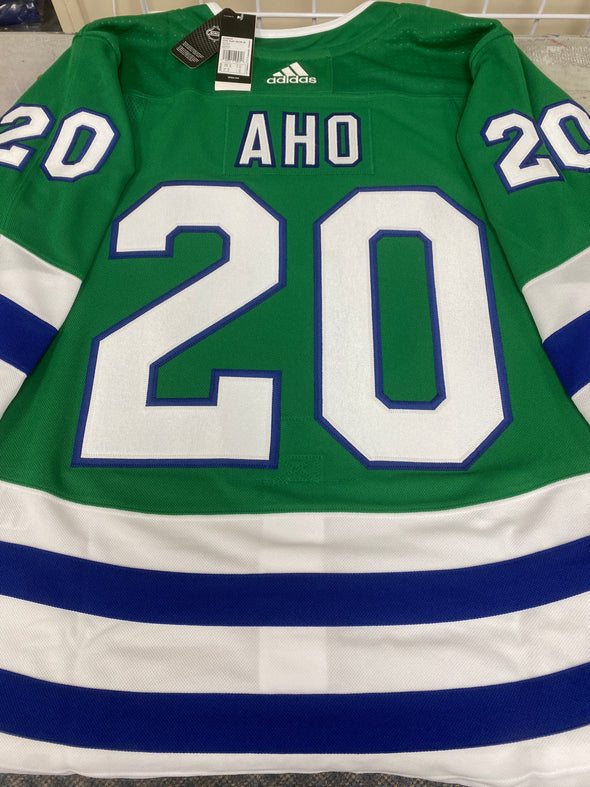 ANY NAME AND NUMBER CAROLINA HURRICANES RETRO HARTFORD WHALERS AUTHENTIC PRO ADIDAS NHL JERSEY