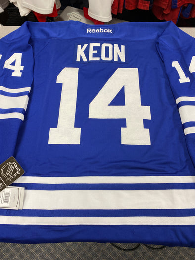 MAKE AN OFFER - DAVE KEON TORONTO MAPLE LEAFS THIRD REEBOK JERSEY SIZE XXL - Hockey Authentic