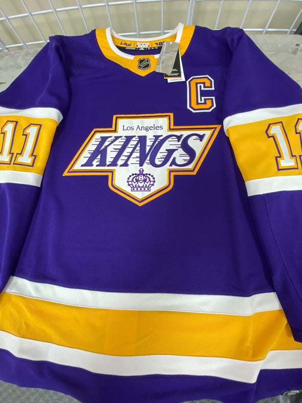 ANY NAME AND NUMBER LOS ANGELES KINGS REVERSE RETRO AUTHENTIC PRO ADIDAS NHL JERSEY