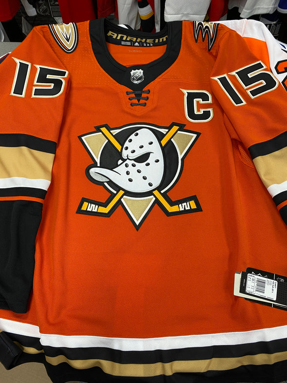 ANY NAME AND NUMBER ANAHEIM DUCKS THIRD ALTERNATE AUTHENTIC PRO ADIDAS NHL JERSEY - Hockey Authentic