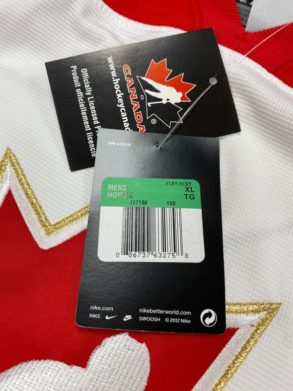 MAKE AN OFFER - CONNOR MCDAVID TEAM CANADA IIHF NIKE JERSEY SIZE XL - Hockey Authentic