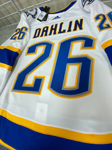 ANY NAME AND NUMBER BUFFALO SABRES REVERSE RETRO AUTHENTIC PRO ADIDAS NHL JERSEY