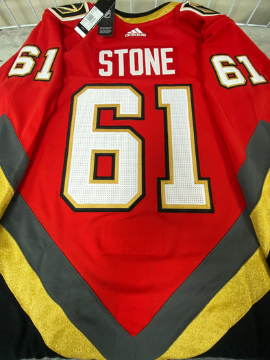 ANY NAME AND NUMBER VEGAS GOLDEN KNIGHTS REVERSE RETRO AUTHENTIC PRO ADIDAS NHL JERSEY