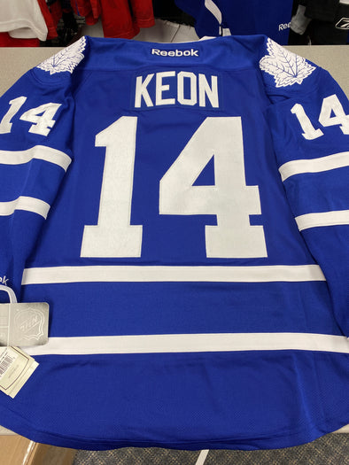 MAKE AN OFFER - DAVE KEON TORONTO MAPLE LEAFS HOME REEBOK JERSEY SIZE S - Hockey Authentic