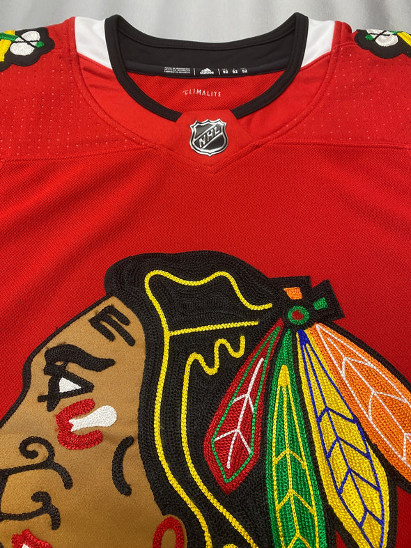 ANY NAME AND NUMBER CHICAGO BLACKHAWKS AUTHENTIC PRO ADIDAS NHL JERSEY
