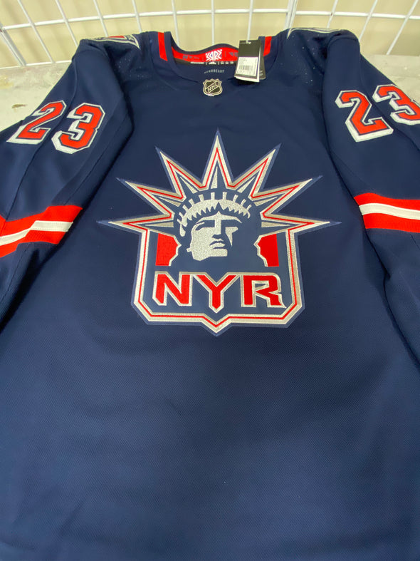 ANY NAME AND NUMBER NEW YORK RANGERS REVERSE RETRO AUTHENTIC PRO ADIDAS NHL JERSEY