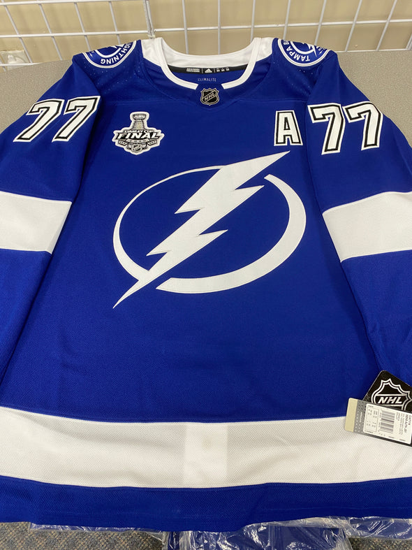 ANY NAME AND NUMBER TAMPA BAY LIGHTNING 2020 STANLEY CUP FINAL AUTHENTIC PRO ADIDAS NHL JERSEY