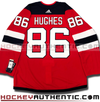 JACK HUGHES NEW JERSEY DEVILS AUTHENTIC PRO ADIDAS NHL JERSEY - Hockey Authentic