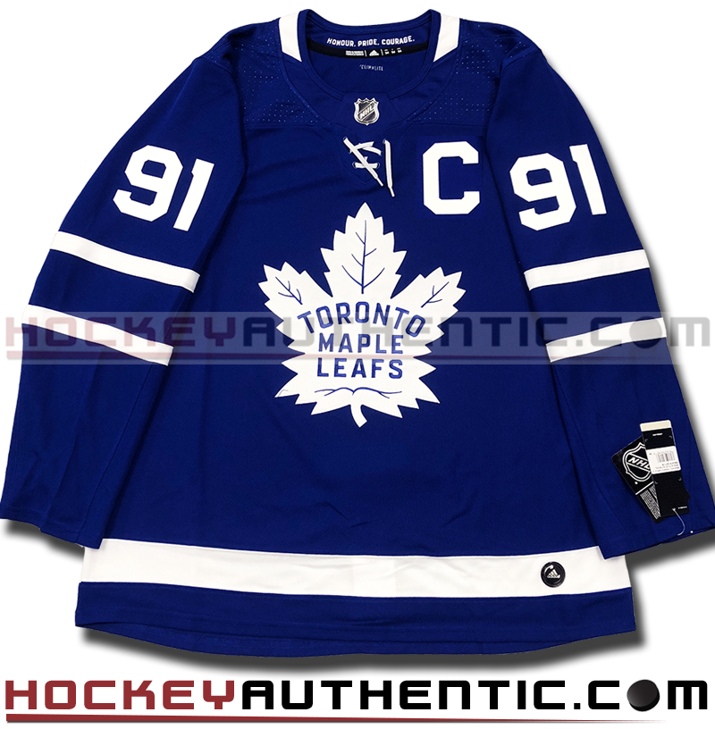 wholesale dealer b5a57 444e7 JOHN TAVARES TORONTO MAPLE LEAFS AUTHENTIC PRO ADIDAS NHL JERSEY