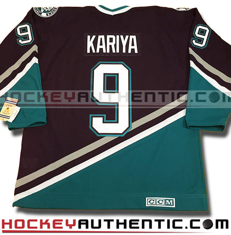 Paul Kariya Anaheim Mighty Ducks 1997 CCM vintage jersey