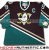 Paul Kariya Anaheim Mighty Ducks 1997 CCM vintage jersey - Hockeyauthentic.com  - 2