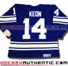 DAVE KEON TORONTO MAPLE LEAFS CCM VINTAGE 1967 REPLICA NHL JERSEY - Hockey Authentic