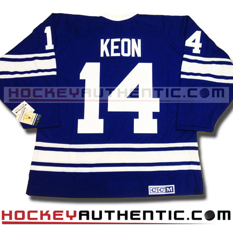 Dave Keon Toronto Maple Leafs 1967 CCM vintage jersey