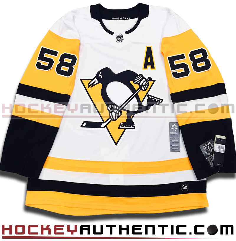 buy online 6cc7a eff62 KRIS LETANG PITTSBURGH PENGUINS AUTHENTIC PRO ADIDAS NHL JERSEY -